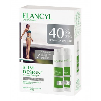 ELANCYL SLIM DESIGN 200 ML X 2 UNIDADES