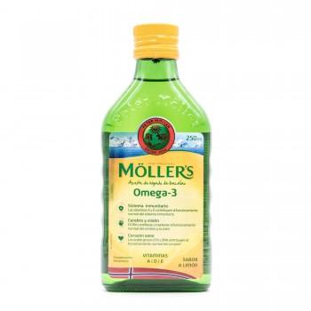 MOLLER'S ACEITE DE BACALAO SABOR LIMON 250 ML
