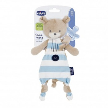 CHICCO POCKET FRIEND AZUL GUARDA CHUPETE