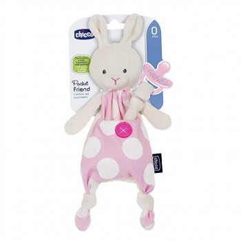 CHICCO POCKET FRIEND ROSA GUARDA CHUPETE