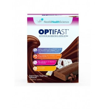 OPTIFAST BARRITAS CHOCOLATE 6 U.