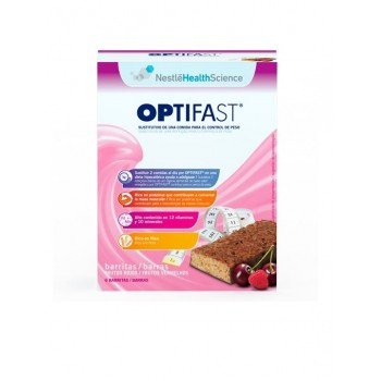 OPTIFAST BARRITAS FRUTAS DEL BOSQUE 6 U