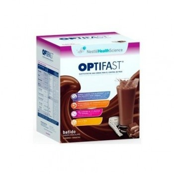 OPTIFAST BATIDOS CHOCOLATE 12 SOBRES