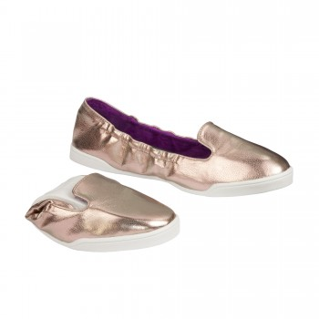 SCHOLL BAILARINA POCKET SLIP ON BRONCE T 39-40
