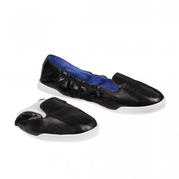 SCHOLL BAILARINA POCKET SLIP ON NEGRA T 39-40