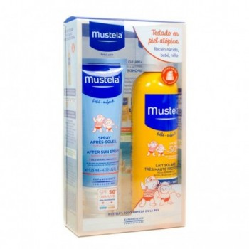 MUSTELA SPF 50+ SPRAY 300 ML + POST SOLAR