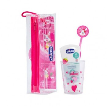 CHICCO SET DENTAL ROSA 36 M+