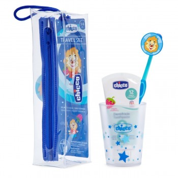 CHICCO SET DENTAL AZUL 36M+