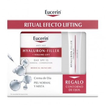 EUCERIN HYALURON-FILLER+VOLUME-LIFT DIA PIEL NORMAL/MIXTA 50 ML