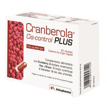 CRANBEROLA CISCONTROL PLUS CON BREZO 60 CAPS