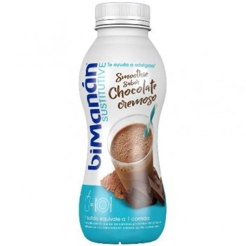Bimanan Sustitutive Smoothie Chocolate Cremoso 330 Ml