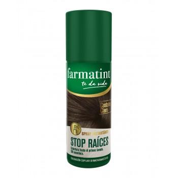 Farmatint Stop Raices CastaÑo Claro 75 Ml Spray