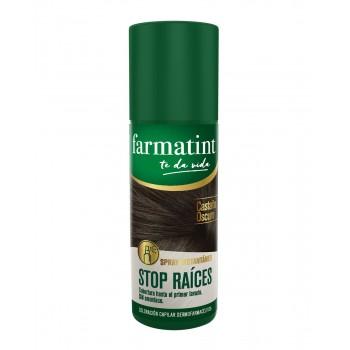Farmatint Stop Raices Castaño Oscuro 75 Ml Spray