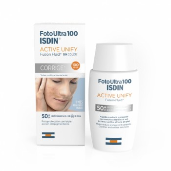 ISDIN SPF 50+ FOTO ULTRA 100 ACTIVE UNIFY FUSION FLUID 50 ML