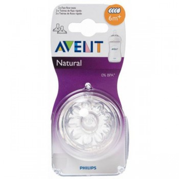 AVENT 2 TETINAS NATURAL 4...
