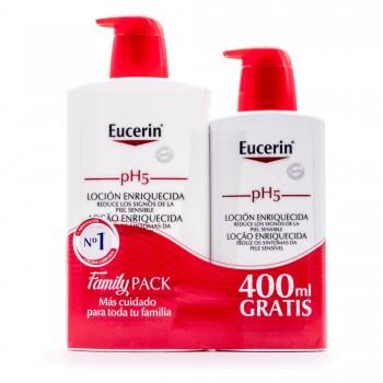 EUCERIN PH5 LOCION ENRIQUECIDA 1000 ML + 400 ML REGALO