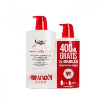 EUCERIN PH5 LOCION ULTRALIGERA 1000 ML + 400ML REGALO
