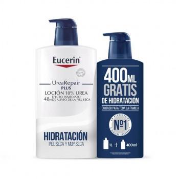EUCERIN UREA-REPAIR PLUS LOCION 10%  1000 ML +400ML REGALO