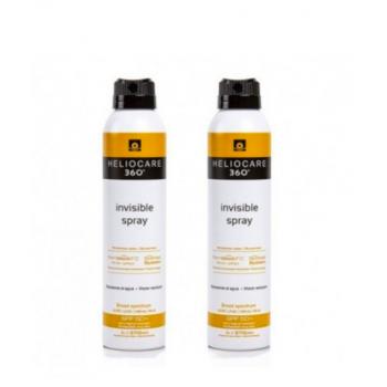 HELIOCARE 360º SPF 50+ INVISIBLE SPRAY X 2 UNIDADES