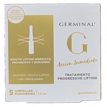 GERMINAL ACCION INMEDIATA PROGRESSIVE LIFTING 5 AMPOLLAS
