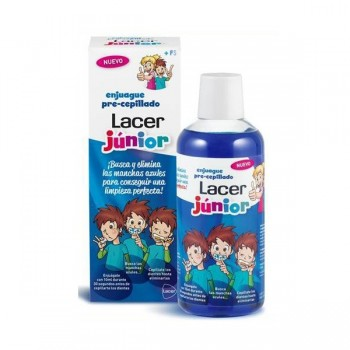 ENJUAGUE PRE CEPILLADO LACER JUNIOR 500 ML