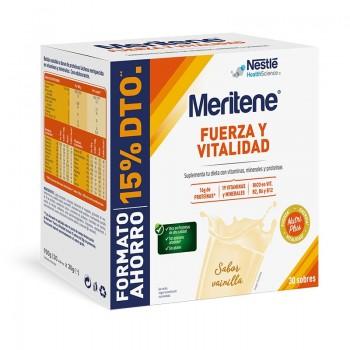 MERITENE BATIDO VAINILLA 30 SOBRES (15% DESCUENTO)