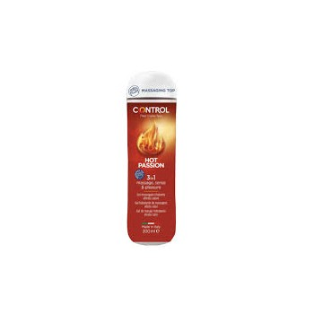 CONTROL MASSAGE 3 IN 1 HOT PASSION 200 ML