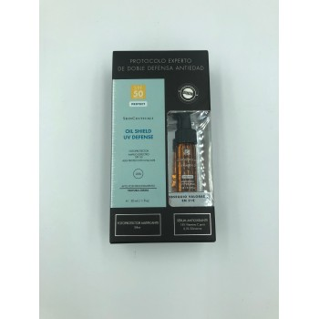 SKINCEUTICALS OIL SHIELD UV DEFENSE SPF 50 30 ML + REGALO SYLIMARIN 4 ML