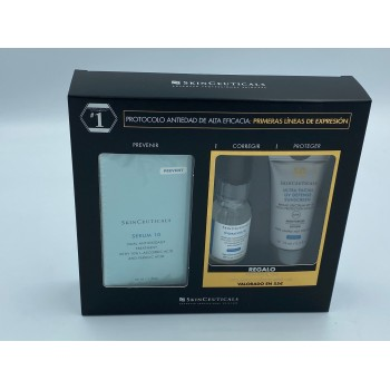 SKINCEUTICALS SERUM 10 30 ML (REGALO HYDRATING B5 15 ML Y ULTRA FACIAL DEFENSE 15ML)