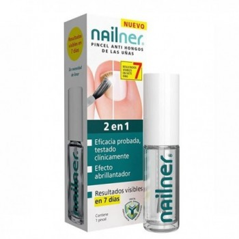 NAILNER PINCEL 2 EN 1 5 ML.