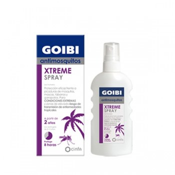 GOIBI XTREME ANTIMOSQUITOS TROPICAL LOCION 75 ML