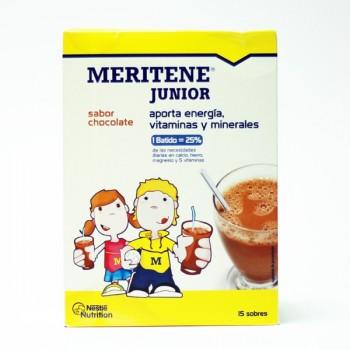 MERITENE JUNIOR BATIDO CHOCO 15 SOBRES