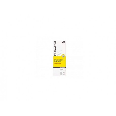 PRANAROM AROMAPIC SPRAY CUERPO CITRONELA  75 ML